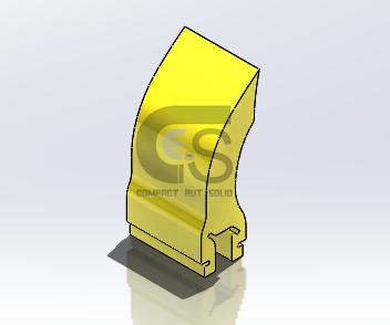 Lưỡi gạt làm sạch băng tải bằng polyurethane kiểu XHD